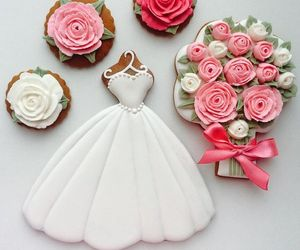 Cookies, desserts, and flowers image