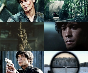 bellamy, soldier, and the100 image