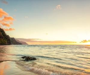 beach and sunshine image