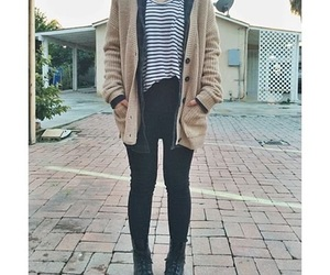 outfit, parka, and tumblr outfit image