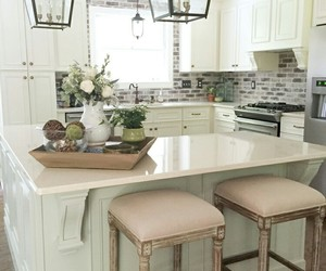 cottage, home decor, and kitchen image