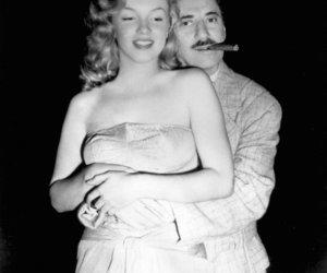 blanco y negro, hollywood, and Marilyn Monroe image