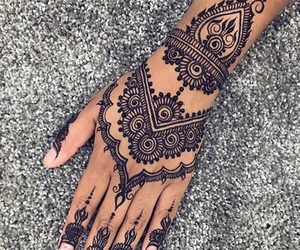 henna, mehndi, and tumblr image