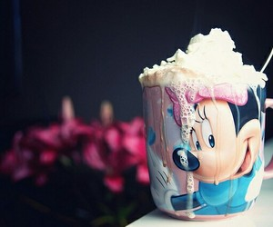 disney, cup, and minnie image