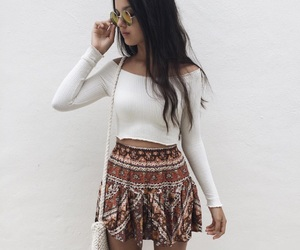 aesthetic, pretty, and skirt image