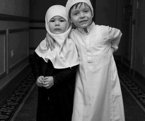 muslim, islam, and child image