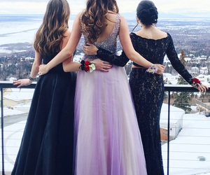Prom, promdress, and promhair image