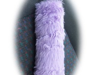 lavender, lilac, and car accessories image