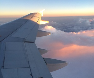 clouds, holidays, and traveling image