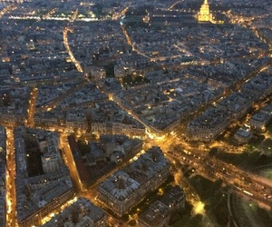 by night, france, and paris image