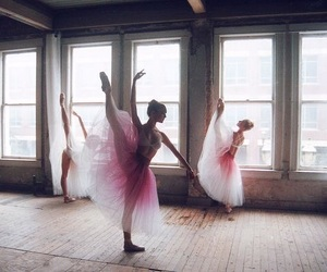 dance, dress, and fitness image