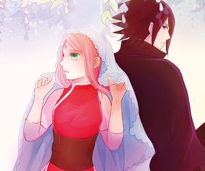 anime, art, and naruto image