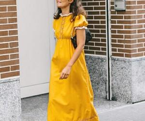 street style, yellow, and boho style image