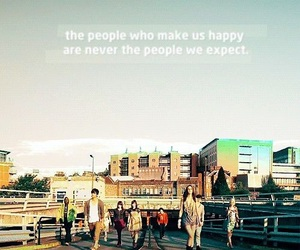 quote, skins, and tv show image