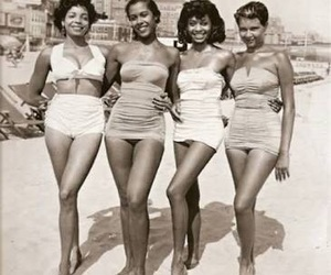 vintage, beach, and summer image