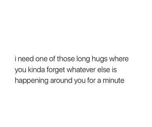 hugs, quotes, and love image