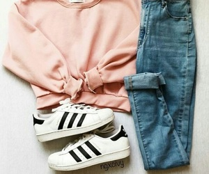 adidas, cool, and outfit image