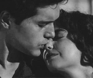 black, kiss, and love image