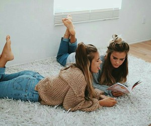 tumblr, friends, and friendship goals image