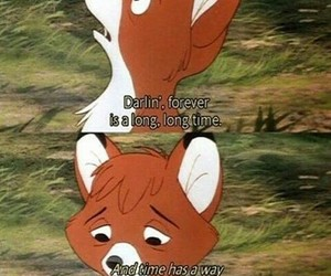 quotes, disney, and forever image