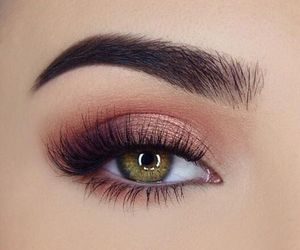 beauty, make-up, and eye image