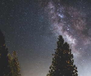 background, constellation, and landscape image