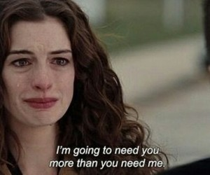 quotes, sad, and Anne Hathaway image