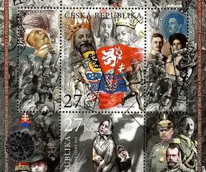 republica checa, filatelia, and estampillas image