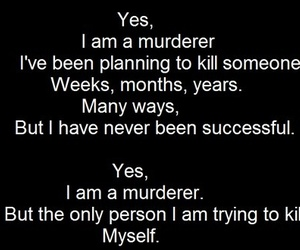 murderer, suicide, and depression image