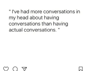 conversation, introspective, and introvert image