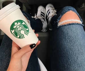 adidas, starbucks, and tumblr image