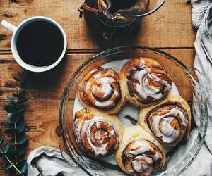 food, coffee, and autumn image