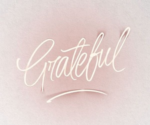 grateful, neon sign, and saying image