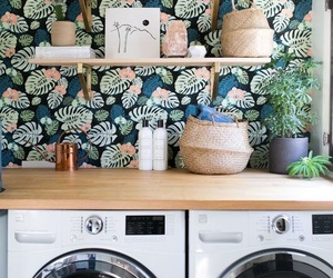 greenery, laundry, and tropical image