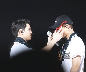 kai, kyungsoo, and do kyungsoo image
