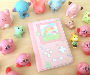 games, kawaii, and kirby image