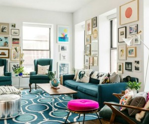 apartment, home decor, and living room image