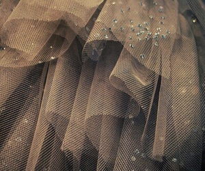 glitter, tulle, and dress image