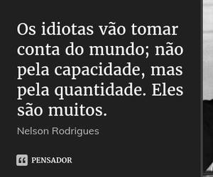 frase, Nelson Rodrigues, and quote image