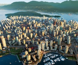 city, vancouver, and vancity image
