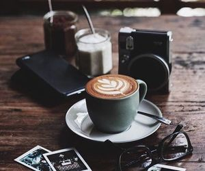cafe, stylish, and coffee image