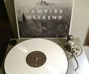 vampire weekend, music, and vinyl image