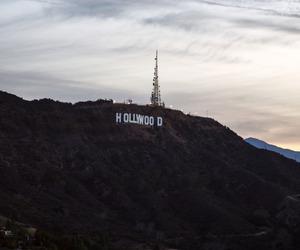 california, city, and hollywood image