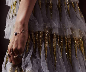details, glitter, and gold image