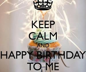 birthday, keep calm, and happy birthday image