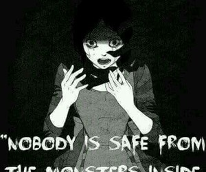 monster, dark, and quotes image