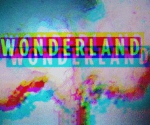 wonderland and smoke image