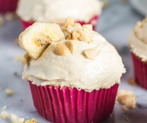 banana, buttermilk, and cupcakes image