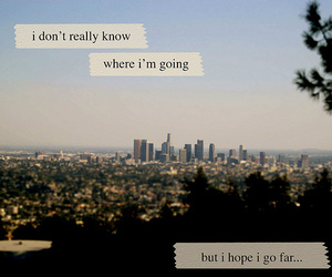 quote, city, and text image