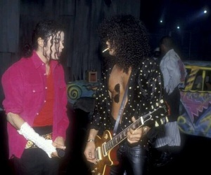 slash and michaeljackson image